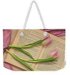 Weekender Tote Bag featuring the photograph Spring Beauty 2 by Kim Hojnacki