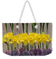 Spring Delights Weekender Tote Bag by Nina Silver