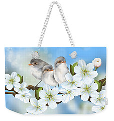 Weekender Tote Bag featuring the painting Spring Fever by Veronica Minozzi