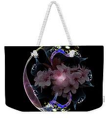 Spring Fractal Weekender Tote Bag