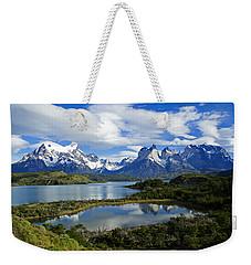 Springtime In Patagonia Weekender Tote Bag