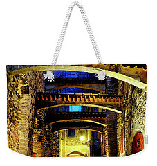 Weekender Tote Bag featuring the photograph St. Catherine's Passage by Fabrizio Troiani
