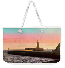 St. Elmo Breakwater Footbridge Weekender Tote Bag
