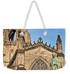 St Giles Cathedral  Edinburgh Weekender Tote Bag by Liz Leyden