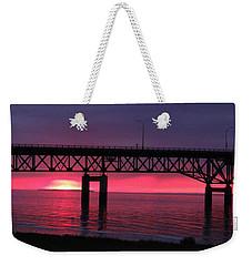 St. Helena Sunset Weekender Tote Bag