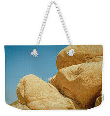 Stacked Boulders Joshua Tree Weekender Tote Bag by Amyn Nasser