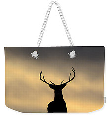 Stag Silhouette  Weekender Tote Bag