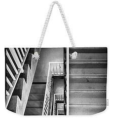 Stairs Weekender Tote Bag by Hugh Smith