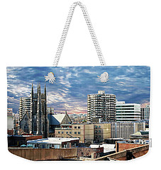 Stamford Cityscape Weekender Tote Bag