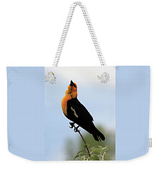 Weekender Tote Bag featuring the photograph Standing Tall by Shane Bechler