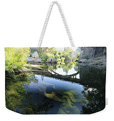 Weekender Tote Bag featuring the photograph Stargate  by Sean Sarsfield