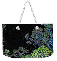 Stars Out Tonight Weekender Tote Bag by Nancy Marie Ricketts
