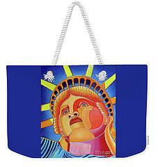Statue Of Liberty Weekender Tote Bag