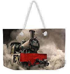 Steam Engine Weekender Tote Bag by Charuhas Images