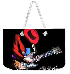 Stevie Ray Vaughan - Texas Flood Weekender Tote Bag