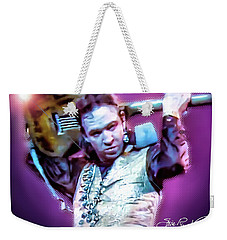 Stevie Ray Vaughan - Love Struck Baby Weekender Tote Bag