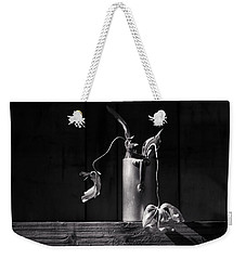 Still Life With Tulip Weekender Tote Bag by Nailia Schwarz