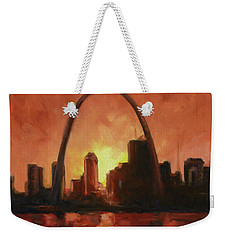 St.louis Downtown - Sunset Weekender Tote Bag