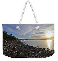 Stone Beach Weekender Tote Bag