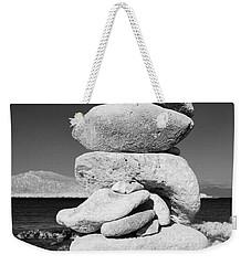 Stone Tower On Halki Island Weekender Tote Bag
