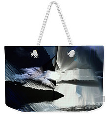Storm Weekender Tote Bag by Elaine Hunter