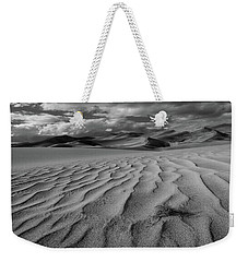 Storm Over Sand Dunes Weekender Tote Bag