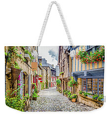 Streets Of Dinan Weekender Tote Bag by JR Photography