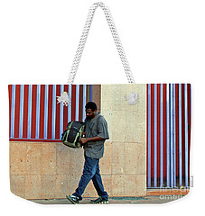 Weekender Tote Bag featuring the photograph Stripes by Joe Jake Pratt