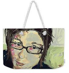 Sue Weekender Tote Bag