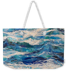 Suite Madam Blue Weekender Tote Bag
