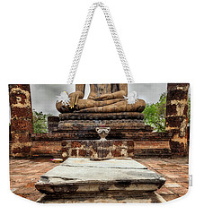 Weekender Tote Bag featuring the photograph Sukhothai Historical Park by Adrian Evans