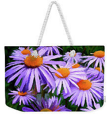 Weekender Tote Bag featuring the painting Summer Dreaming by David Dehner