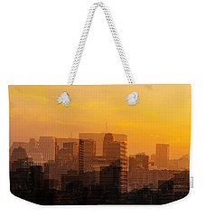 Summer In The City Weekender Tote Bag by Cathy Donohoue
