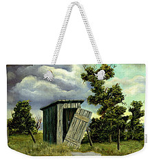Summer Outhouse Weekender Tote Bag