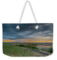 Summer Storm Weekender Tote Bag