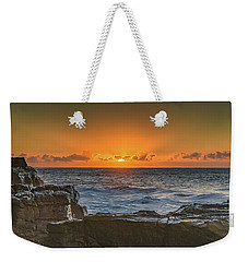 Sun Rising Over The Sea Weekender Tote Bag