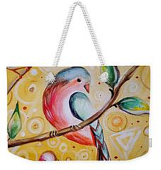 Sunshine Birds Weekender Tote Bag