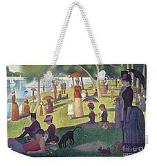 Sunday Afternoon On The Island Of La Grande Jatte Weekender Tote Bag