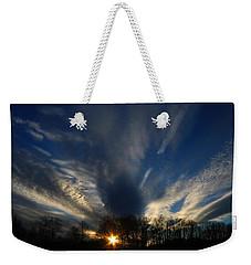 Sundown Skies Weekender Tote Bag by Kathryn Meyer