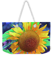 Weekender Tote Bag featuring the photograph Sunflower by Allen Beatty