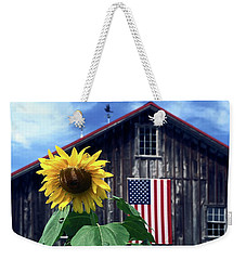 Sunflower By Barn Weekender Tote Bag
