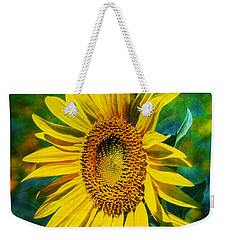 Sunflower Weekender Tote Bag by Ian Mitchell