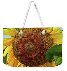 Sunflower Weekender Tote Bag by Mikki Cucuzzo