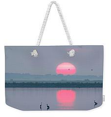 Sunrise At Cheyenne Bottoms -01 Weekender Tote Bag