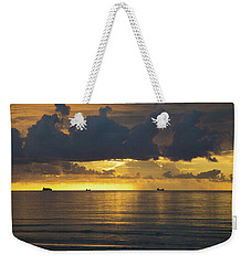 Sunrise Miami Beach Weekender Tote Bag