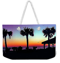 Sunrise On Ormond Beach Weekender Tote Bag