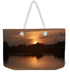 Sunrise On The Bayou Weekender Tote Bag by John Glass