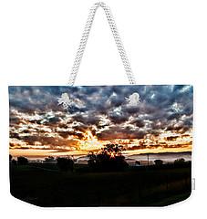 Sunrise Over Fields Weekender Tote Bag