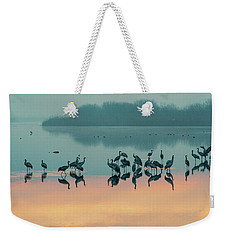 Sunrise Over The Hula Valley Weekender Tote Bag