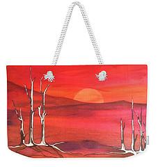 Sunrise Weekender Tote Bag by Pat Purdy